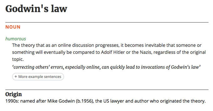 Godwin's Law | Know Your Meme