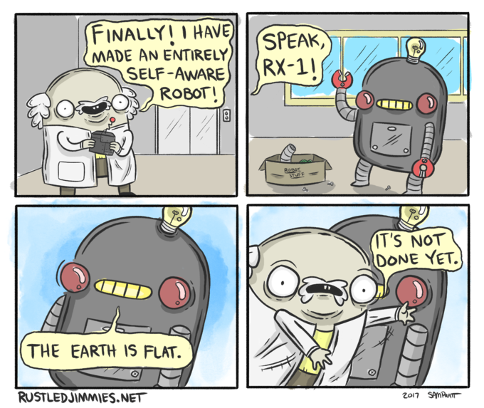 Self Aware Robot Know Your Meme