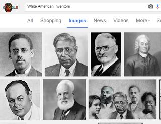 white american inventors according to google image search google