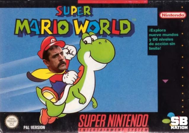 SUPER Nintendo MARIO WORLD Explora Nueve Mundos Y96 Niveles De Accion Sin Limite