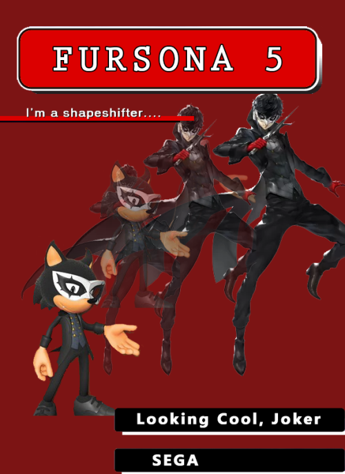 Sonic Forces Persona 5 Costume | Know Your Meme