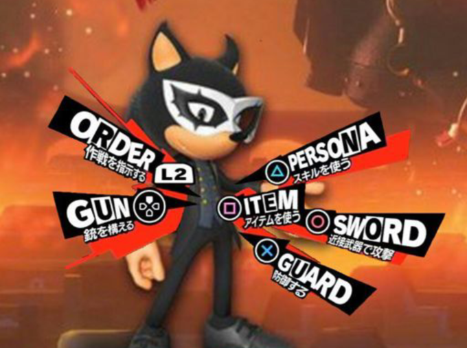 Sonic Forces Persona 5 Costume   Know Your Meme