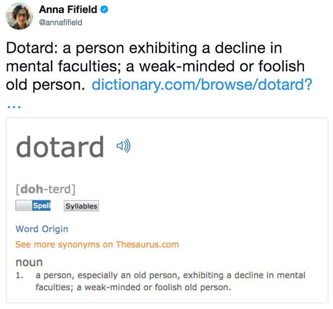 Dotard | Know Your Meme