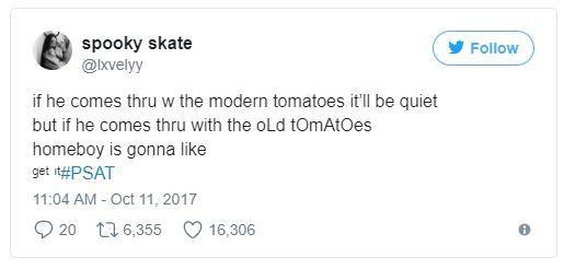 Tomato Tweet Psat Know Your Meme