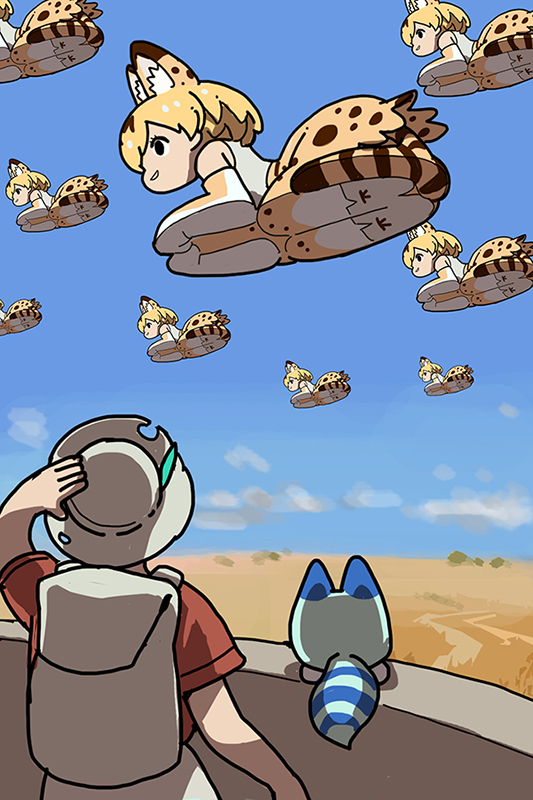 Glass Table Cat Kemono Friends Know Your Meme