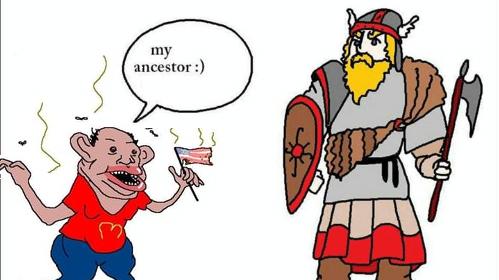 my ancestor amerimutt le 56 face know your meme