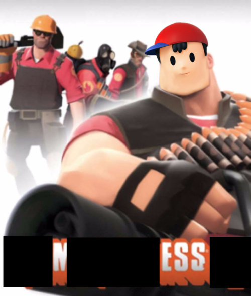I Am Heavy Weapons Ness And This Is My Weapon Weapon Shown In