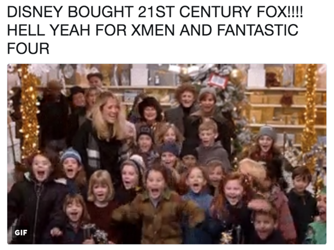 be0504b85 DISNEY BOUGHT 21ST CENTURY FOX!!!! HELL YEAH FOR XMEN AND FANTASTIC FOUR