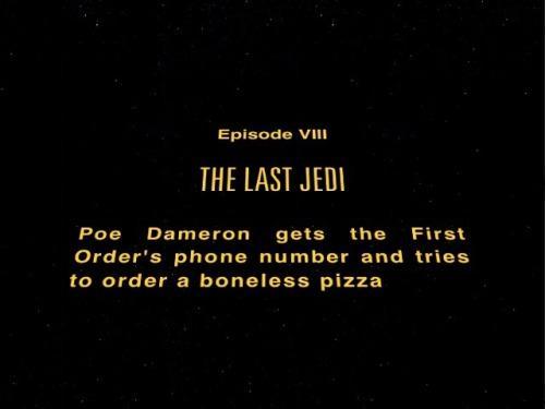 Long Time Ago In An Order Far Far Away Star Wars The Last Jedi