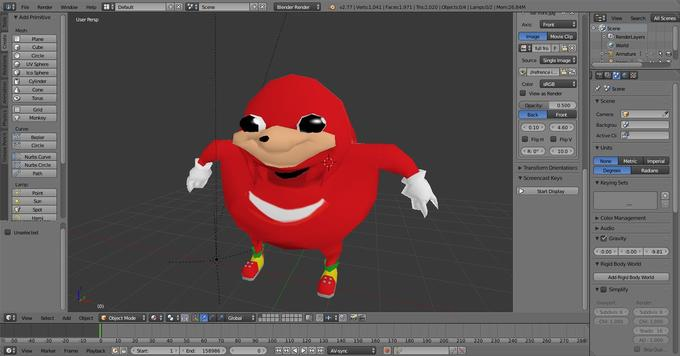 Ugandan Knuckles | Know Your Meme