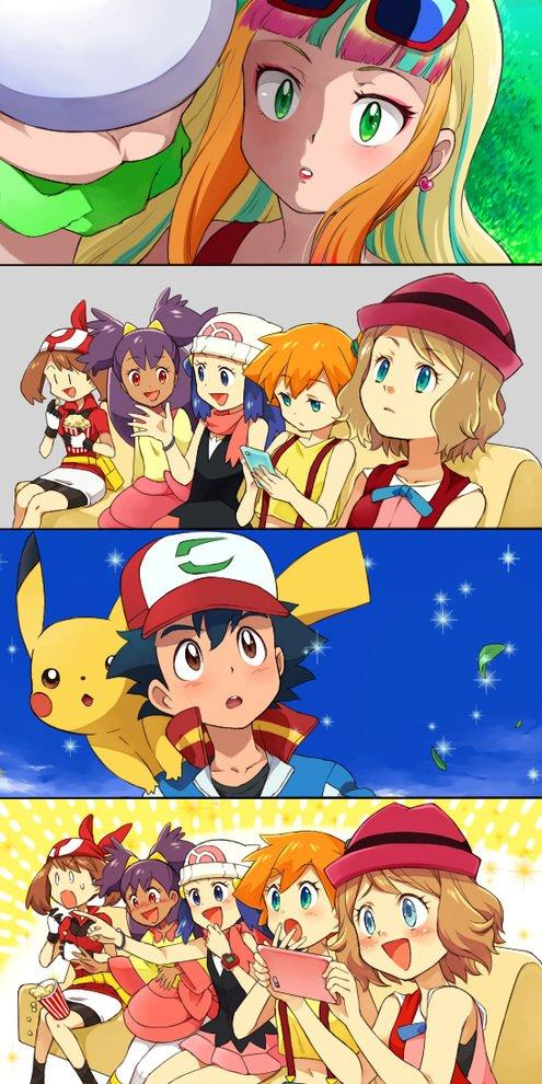 That interfere, Cute anime pokemon girls think
