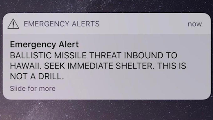 Hawaii Missile False Alarm Know Your Meme
