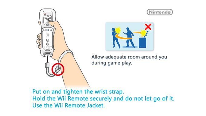 Wii Remote Wrist Strap Know Your Meme
