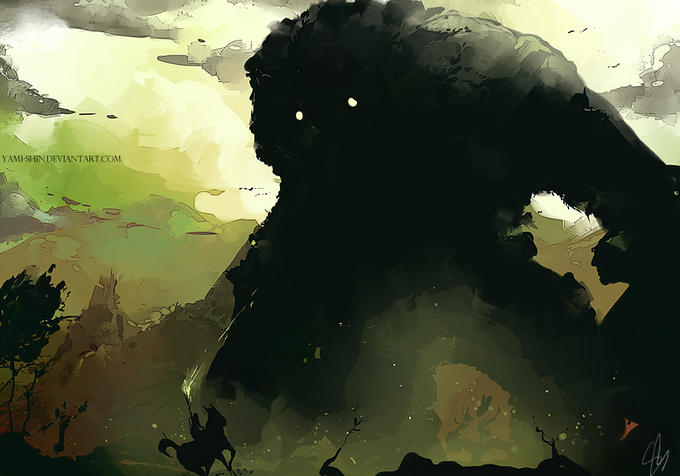 YAMI SHINDEVIANTARTCOM Shadow Of The Colossus Red Dead Redemption 2 Sky Atmosphere
