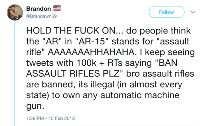 ar 15 stands for know your meme