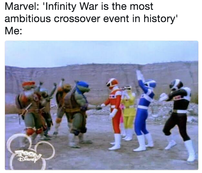 Infinity War Is The Most Ambitious Crossover Event In History