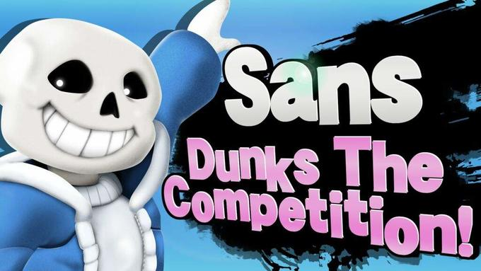 Sans in Smash | Know Your Meme