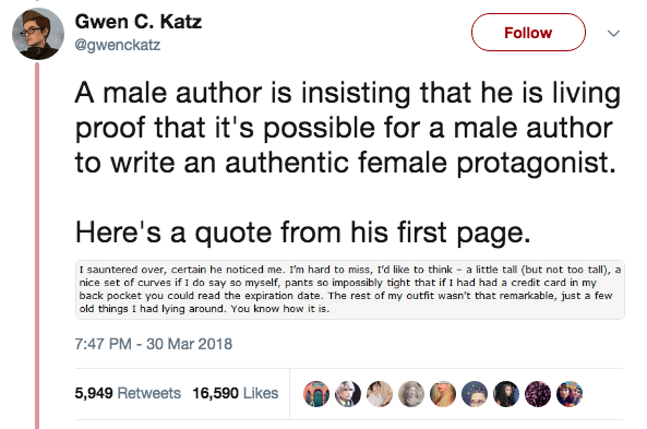 female science fiction writers male pseudonyms