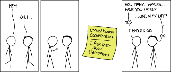 Friendly Questions | xkcd | Know Your Meme