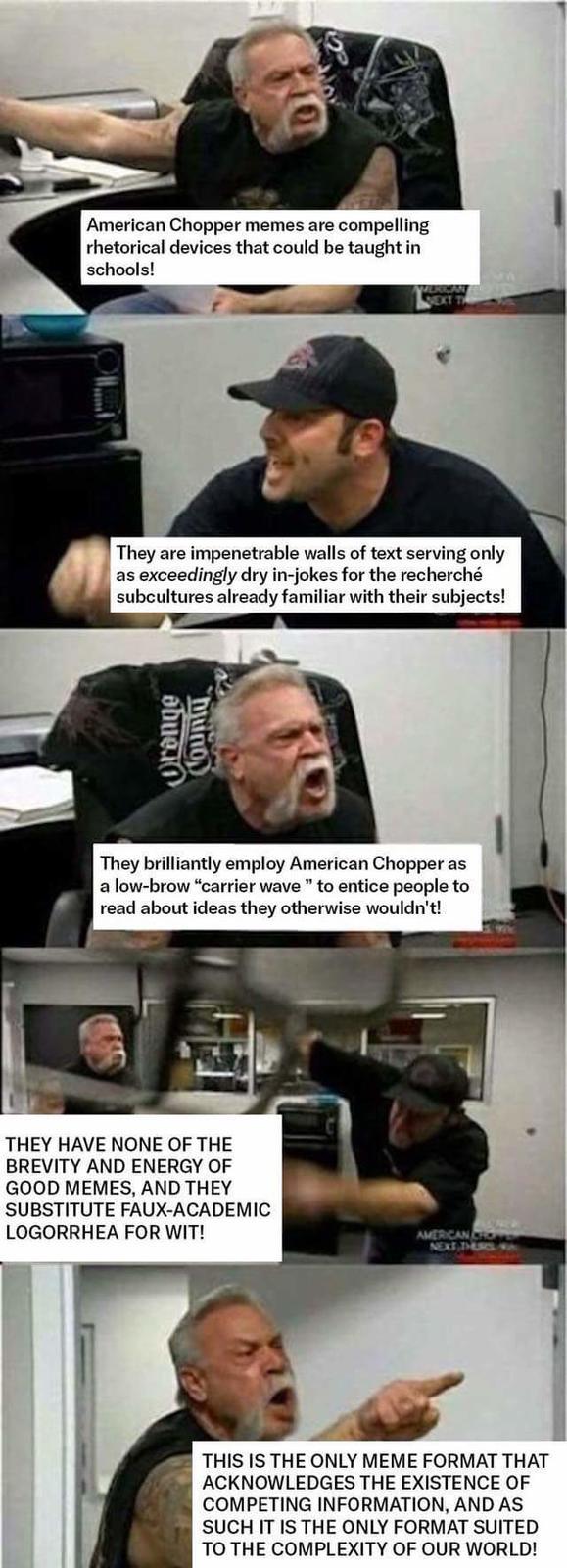 American Chopper Argument Know Your Meme
