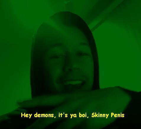 Its Ya Boy Skinny Penis