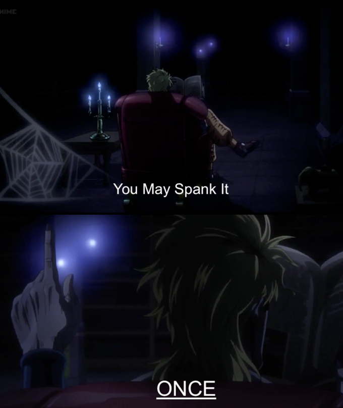I will spank you later