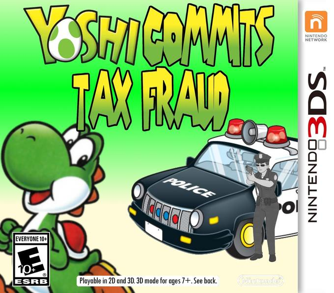 Yoshi Committed Tax Fraud | Know Your Meme