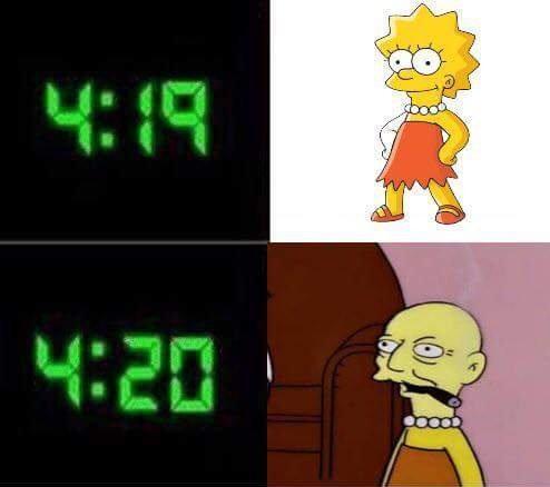 4: 19 4:20 ' yellow cartoon