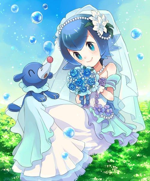 Lana in a Wedding Dress | Pokémon Sun and Moon | Know Your Meme
