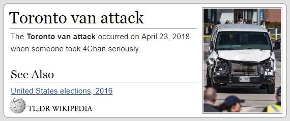 fd684ddff2 Toronto van attack The Toronto van attack occurred on April 23
