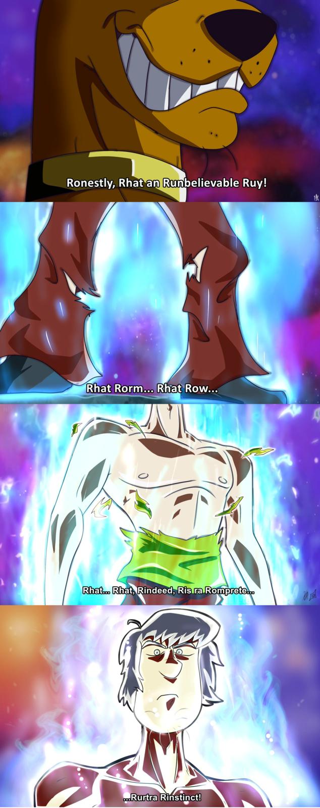 """""""Like, Ultra Instinct is pretty sweet man. Scooby will ..."""