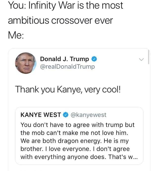 Thank You Kanye Very Cool Know Your Meme