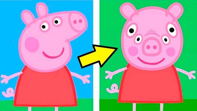 peppa pig front view peppa pig know your meme