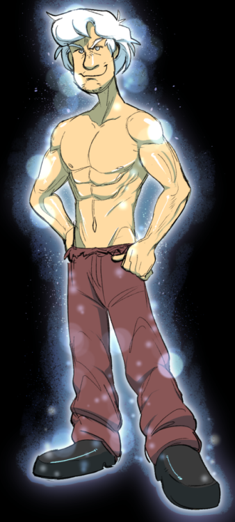 man cartoon fictional character male muscle art