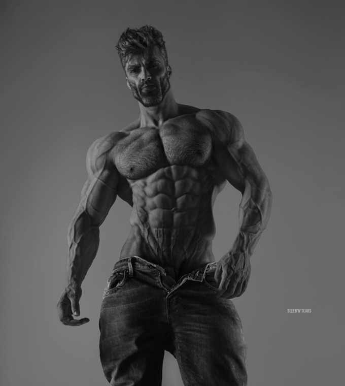 SLEEK'N TEARS man black and white bodybuilder standing muscle bodybuilding male monochrome photography body man arm chest