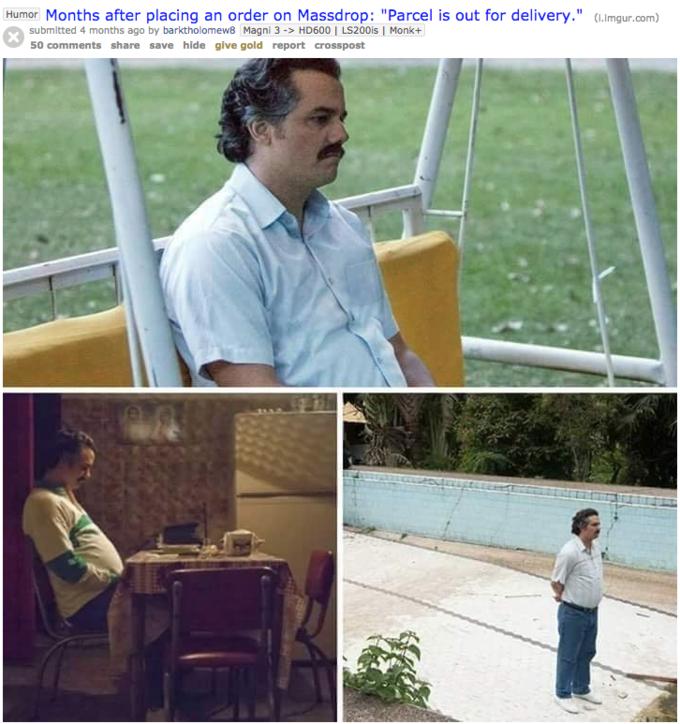 Pablo Escobar Waiting Know Your Meme