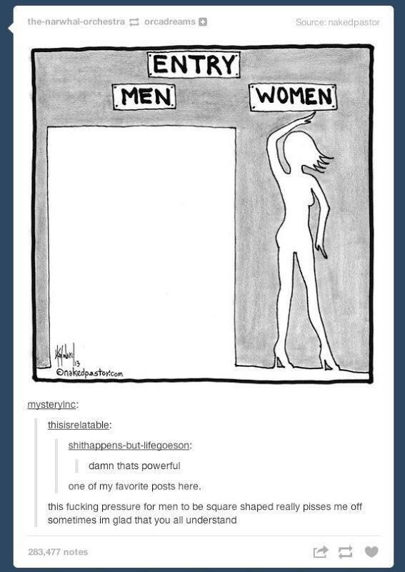 Unrealistic Body Standards Smh Tumblr Know Your Meme