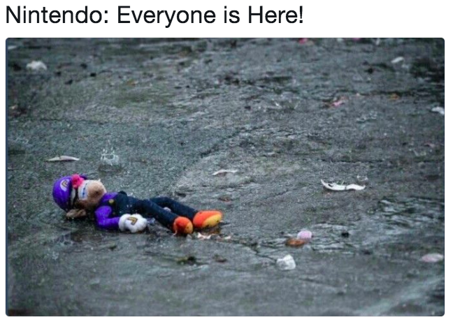 Nintendo: Everyone is Here! water water resources geological phenomenon
