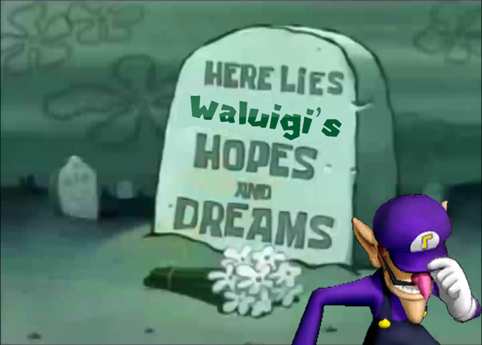 The Best Of Waluigi S Smash Snub Know Your Meme
