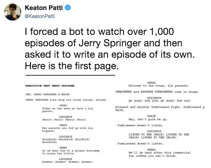 I Forced a Bot | Know Your Meme