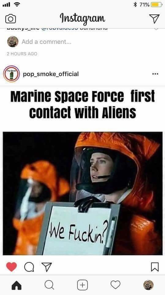 Fucking Marines United States Space Force Know Your Meme