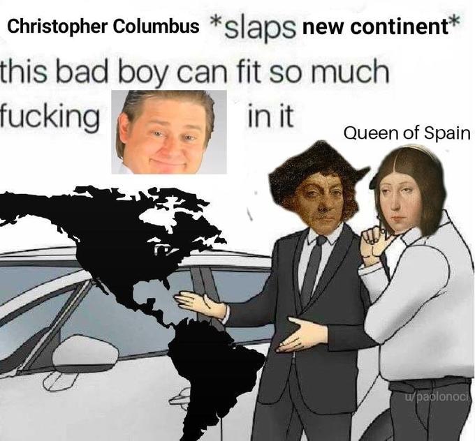 Slaps Roof Of Car