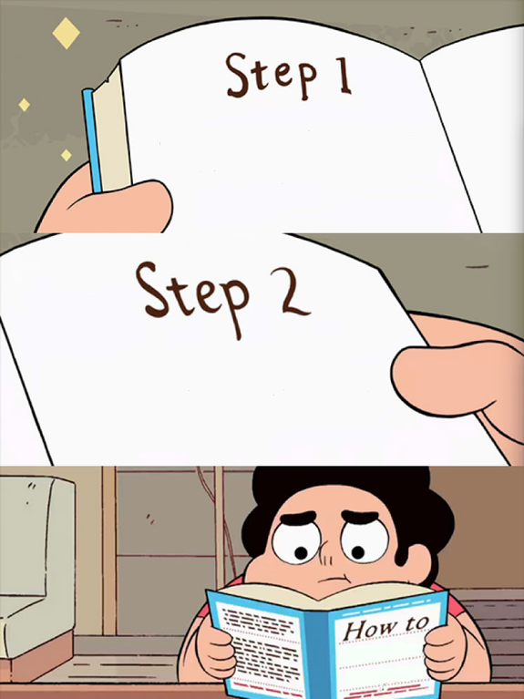 template steven universe how to book know your meme
