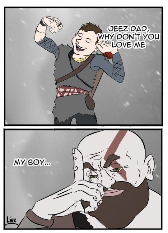 My Boy God Of War Know Your Meme