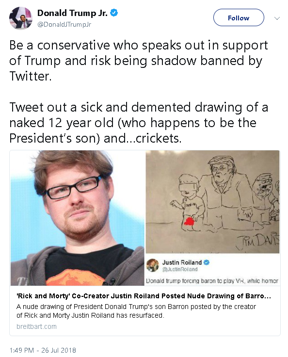 A Nude Drawing Of President Donald Trumps 12 Year Old Son Barron