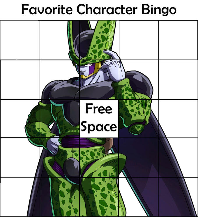 Favorite Character Bingo | Know Your Meme