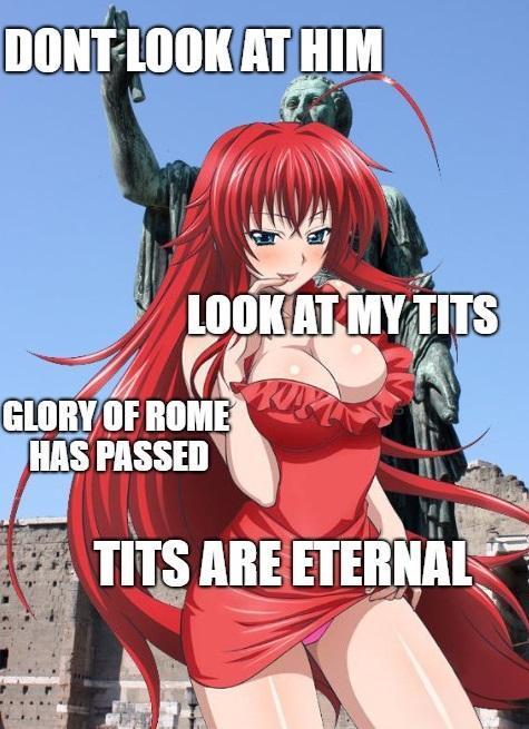 tits are tits meme