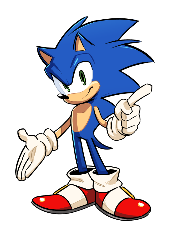 Throws Boom Modern And Classic Into A Blenderrr Sonic The Hedgehog Know Your Meme
