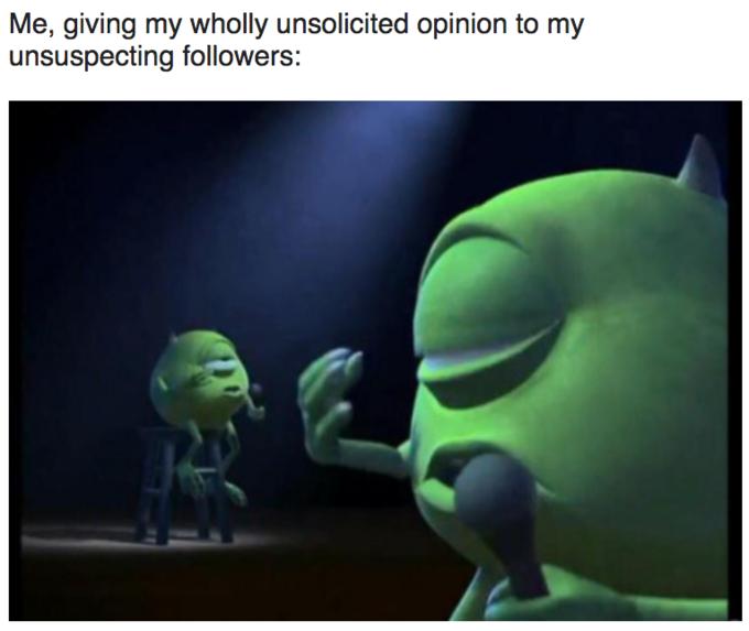 Mike Wazowski Singing Know Your Meme