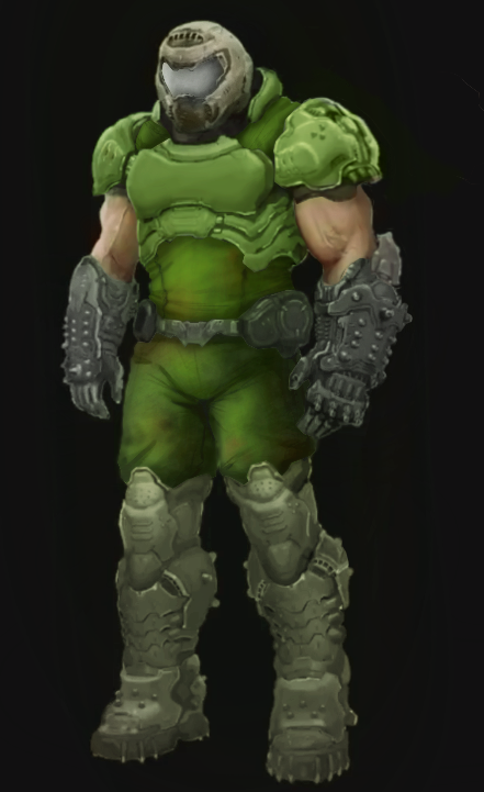 Classic Doomguy Edit By An Anon On Vr Doom Know Your Meme